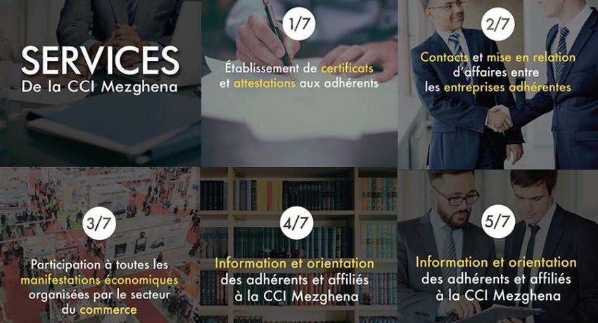 Services aux adhérents de la CCI Alger