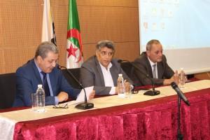 Signature d'une convention cadre entre la CCI Mezghena - SAA