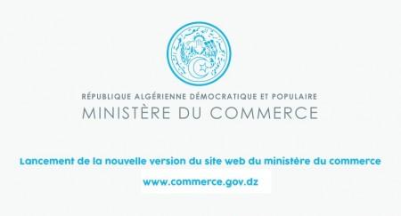 Lancement de la nouvelle version du site web du ministère du commerce.
