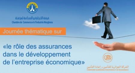 Journée thématique : rôle des assurances dans le développement de l'entreprise économique