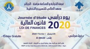 Journée d'étude : LOI DE FINANCES 2020