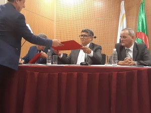 Signature d'une convention cadre entre la CCI Mezghena - IANOR