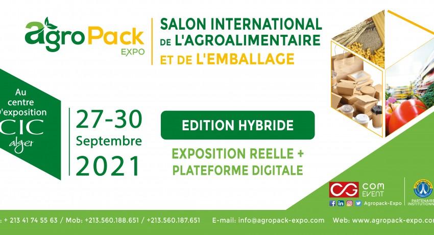 salon Agro-pack Expo au CIC du 27 au 30 Septembre 2021