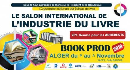 "Salon international de l'Industrie du Livre ""BOOKPROD"""